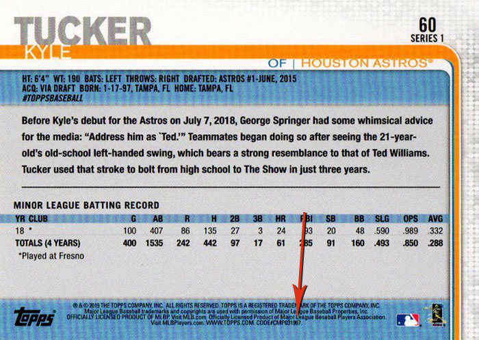 2019 Topps Series 1 Baseball Variations Guide Checklist And