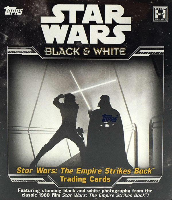 2019 Topps Star Wars Empire Strikes Back Black and White Hobby Box