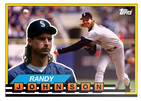 2019 Topps TBT 15 Randy Johnson