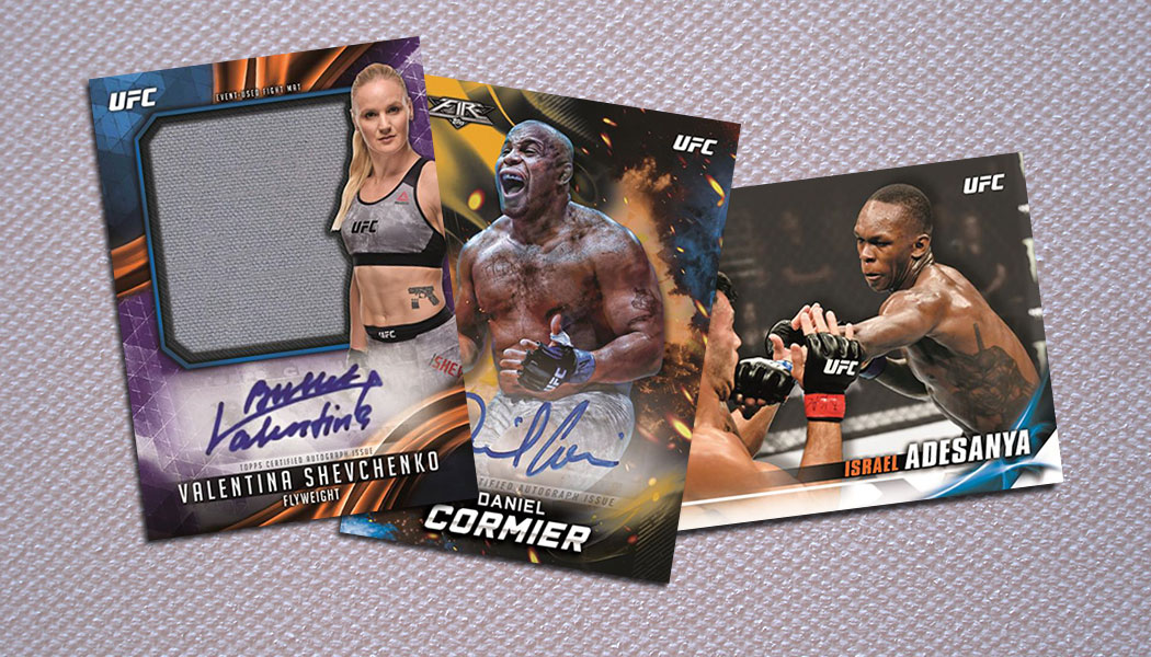 2019 Topps UFC Knockout Cards Checklist, Details, Release Date