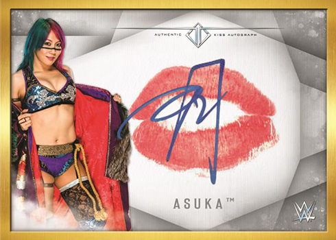 2019 Topps WWE Transcendent Kiss Autographs Asuka