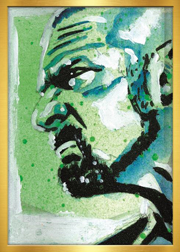 2019 Topps WWE Transcendent Rob Schamberger Sketch Card Triple H