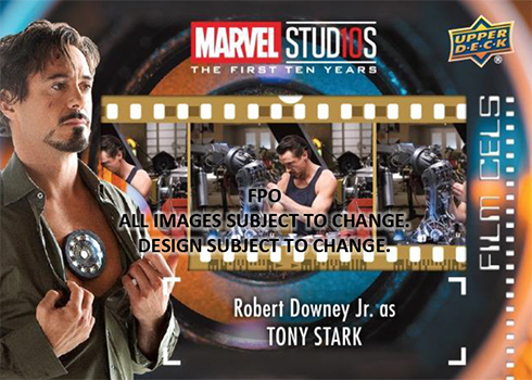 2019 Upper Deck Marvel Studios: The First Ten Years Film Cel