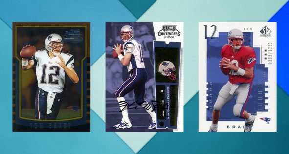 Tom Brady Rookie Card Rankings Countdown Of The Best Most