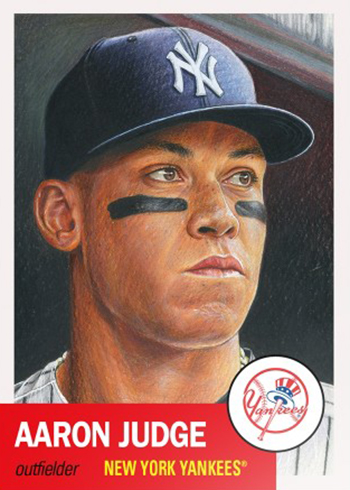 Topps Living Set Baseball Aaron Judge