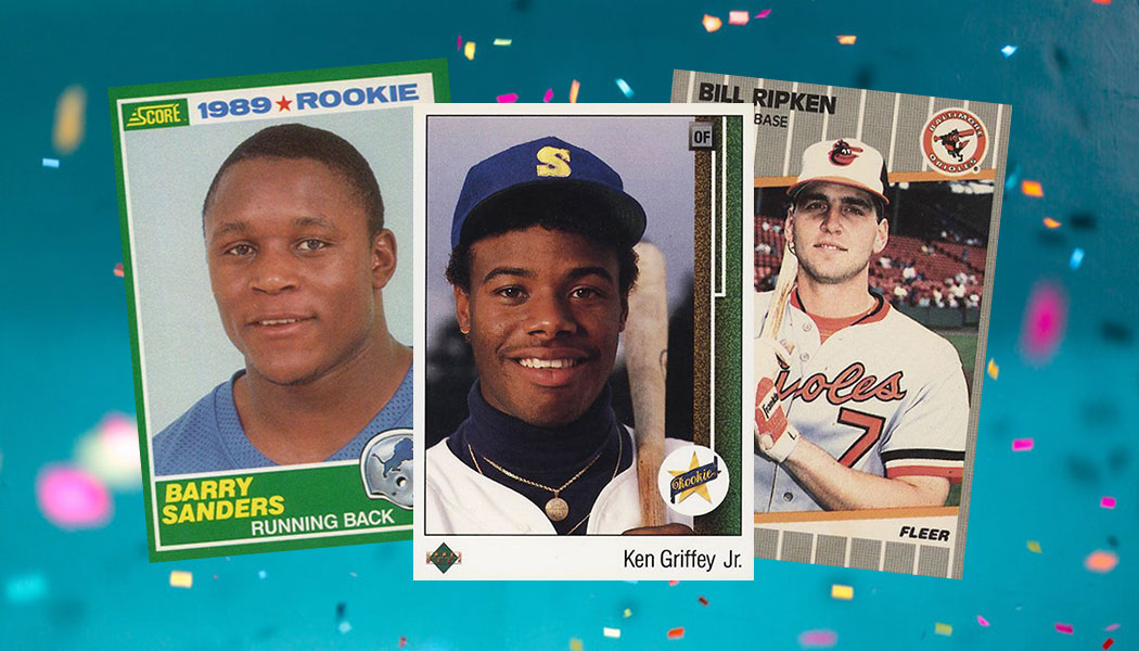 11 Iconic 1989 Sports Cards That Are Still Totally Awesome