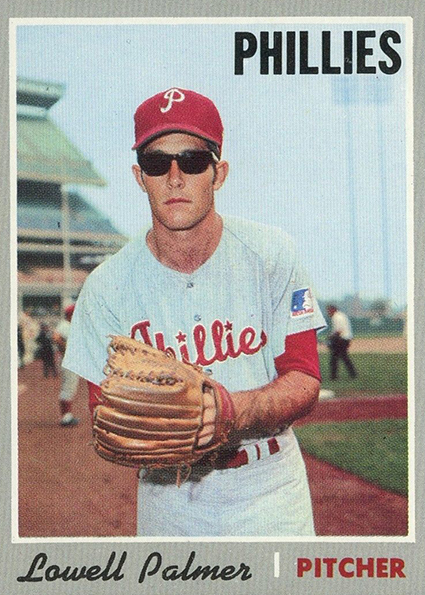 1970 Topps Lowell Palmer