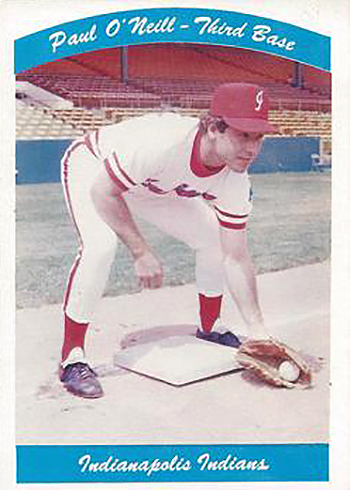 1980 Indianapolis Indians Team Issue Paul ONeill