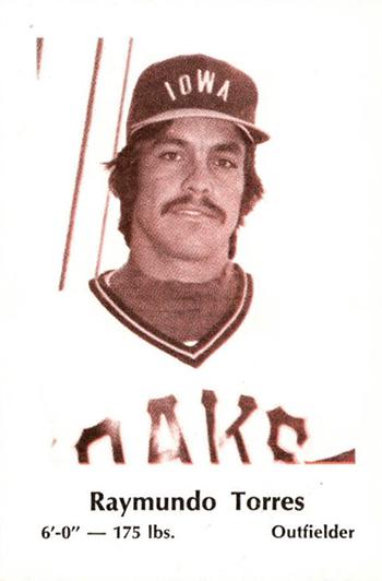 1980 Iowa Oaks Police Raymundo Torres