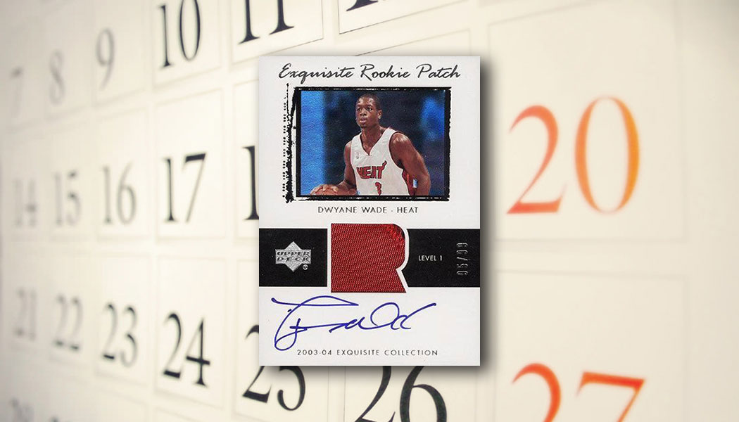 The Daily 2003 04 Upper Deck Exquisite Collection Dwyane