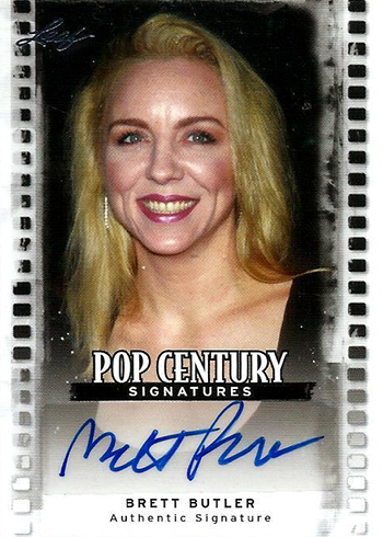 2011 Leaf Pop Century Brett Butler Autograph