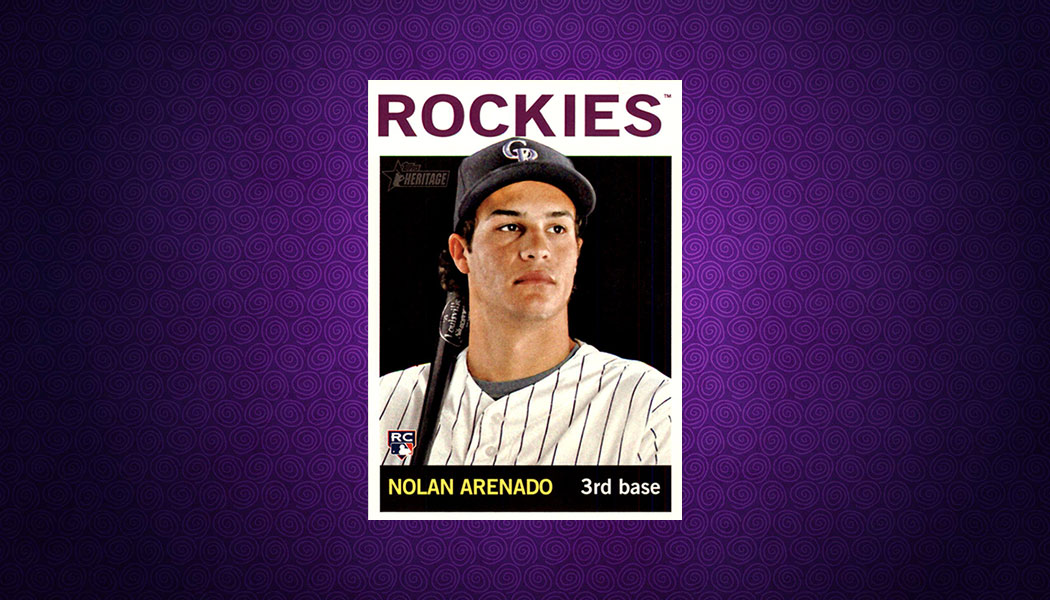 ad37a104e On the Rise  2013 Topps Heritage Nolan Arenado RC – Beckett Pricing Insider