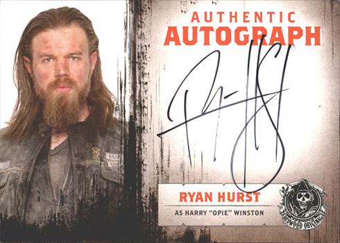 2015 Cryptozoic Sons of Anarchy Seasons 4-5 Autographs Ryan Hurst