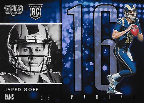 2016 Panini Gala Jared Goff Rookie Card