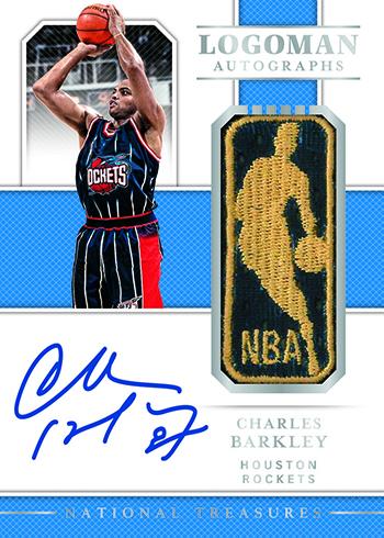 2018-19 Panini National Treasures Basketball Logoman Autographs