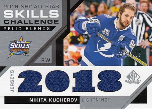 2018 NHL All-Star Skills Relic Blends Checklist ae19fa35a