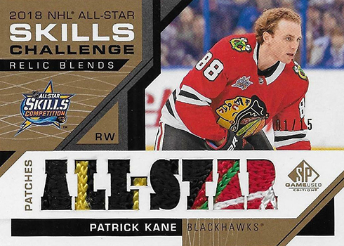 2018 NHL All-Star Skills Relic Blends Patch Checklist 37a196c0d