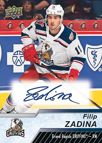 2018-19 Upper Deck AHL Hockey Autographs
