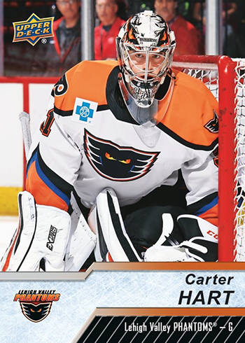 2018-19 Upper Deck AHL Hockey Base CarterHart