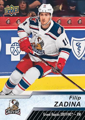 2018-19 Upper Deck AHL Hockey Base Filip Zadina