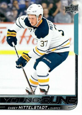 2018-19 Upper Deck Series 2 Hockey 453 Casey Mittelstadt