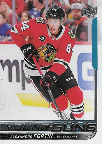 2018-19 Upper Deck Series 2 Hockey 490 Alexandre Fortin