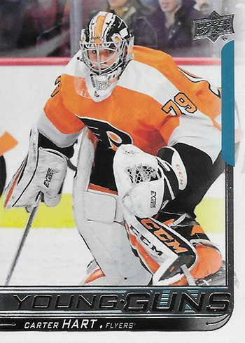 2018-19 Upper Deck Hockey Young Guns Carter Hart