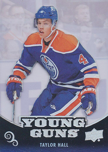 2018-19 Upper Deck Series 2 Retro Acetate Young Guns Taylor Hall