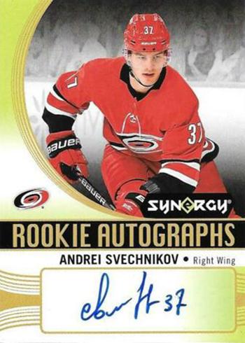 2018-19 Upper Deck Synergy Hockey Autographs Andrei Svechnikov