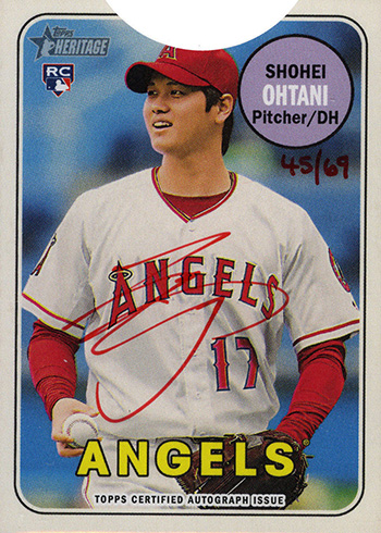 2018 Heritage Red Ink Ohtani