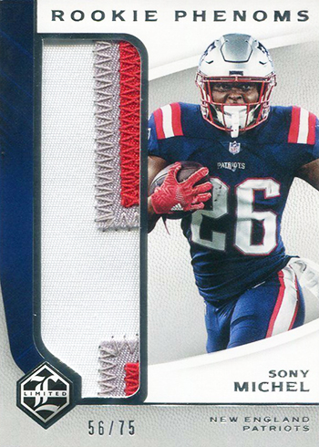 2018 Limited Football Rookie Phenoms Sony Michel