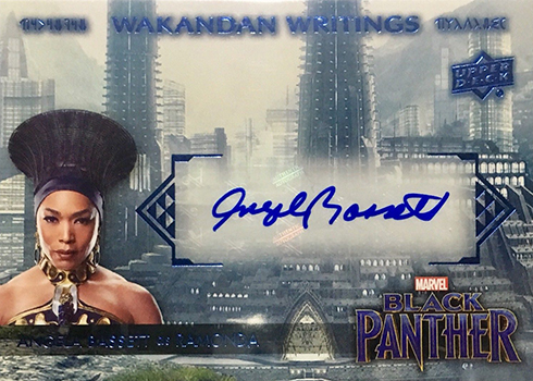 2018 Upper Deck Black Panther Autographs WWRA Angela Bassett