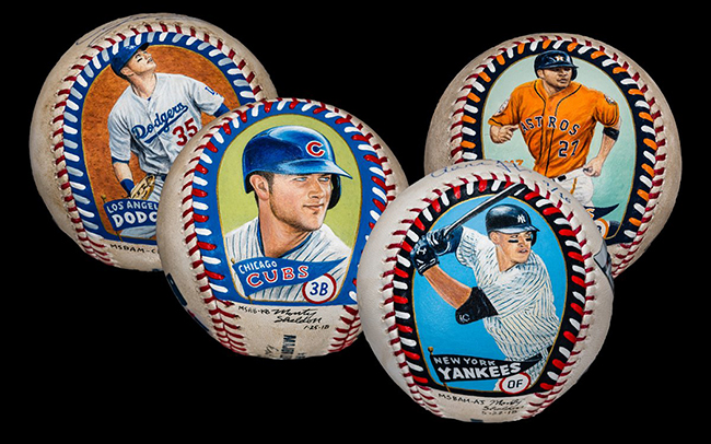 2019 Baseball Authenticated Masterpieces Group A
