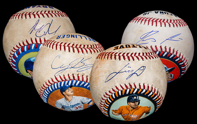 2019 Baseball Authenticated Masterpieces Group B