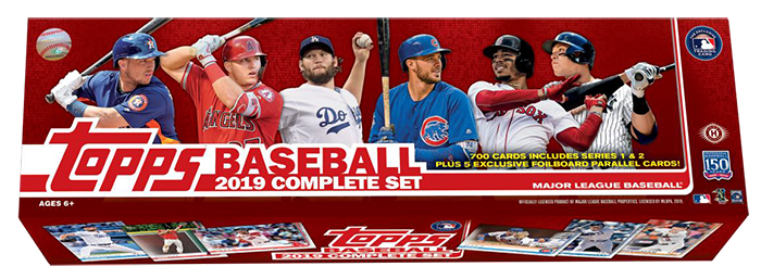 2019 Topps Baseball Factory Sets Details Exclusives Checklist