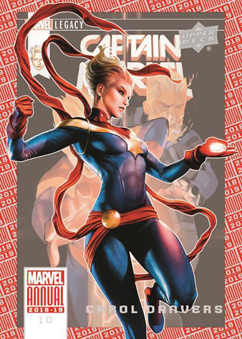 2019 Upper Deck Marvel Annual 2018 Base