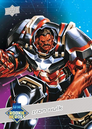 PANINI MARVEL HEROES trading card COX Nº 100-Hawkeye
