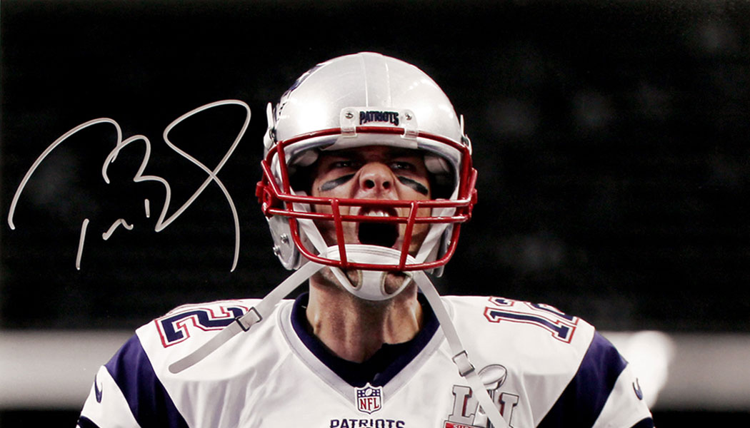 Tom Brady, TRISTAR Set Private Autograph Signing for March