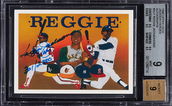 Huge Collection Of Famous 1990s Autographed Baseball Cards