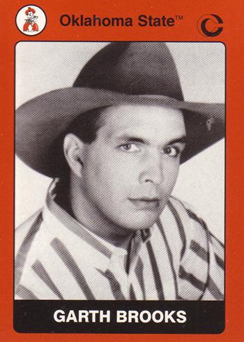 1991 Oklahoma State Garth Brooks