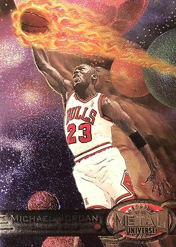 1997-98 Metal Universe Michael Jordan