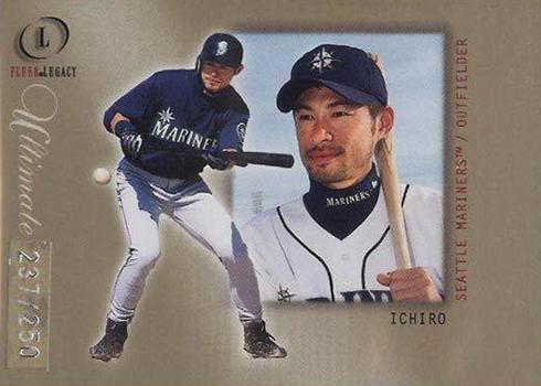 2001 Fleer Legacy Ultimate Ichiro
