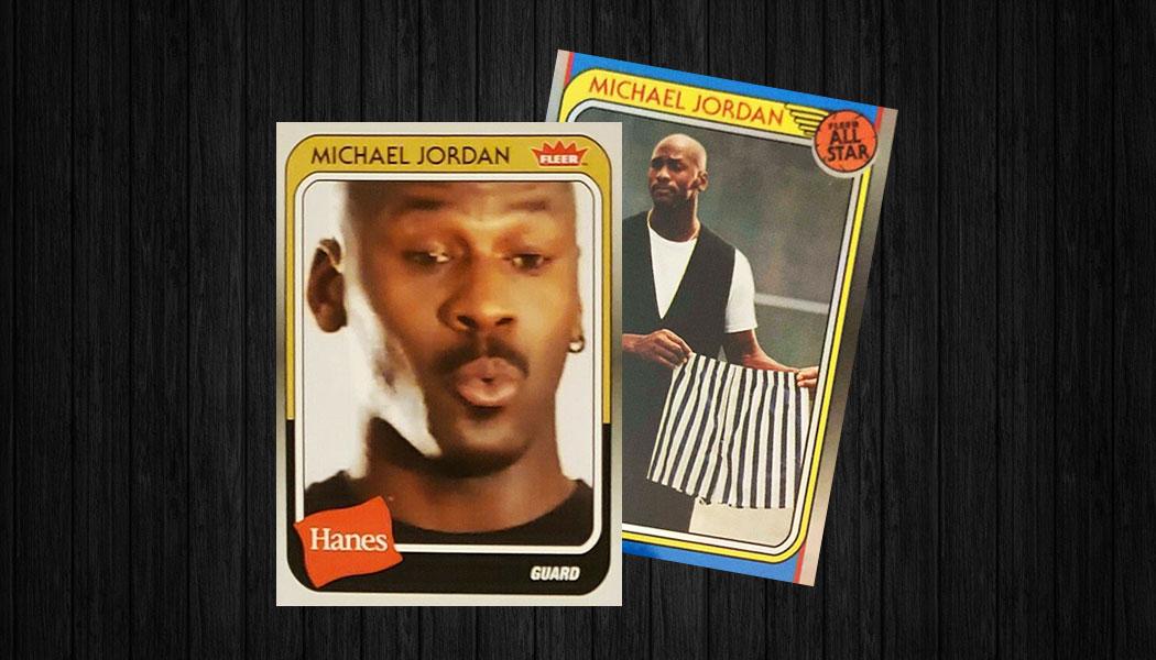 beacb75b016b Better Than Underoos  2018-19 Fleer Hanes Michael Jordan 30th Anniversary  Trading Cards