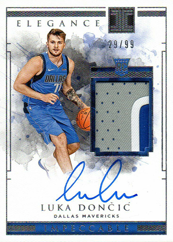 2018-19 Panini Impeccable Luka Doncic RC