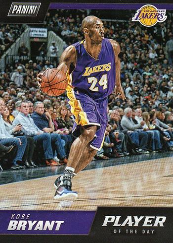 2018-19 Panini NBA Player of the Day Kobe Bryant