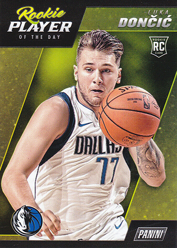 2018-19 Panini NBA Player of the Day Rookie Luka Doncic