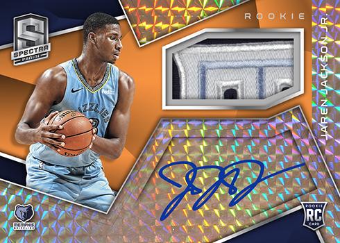 2018-19 Panini Spectra Basketball Rookie Jersey Autographs Neon Orange