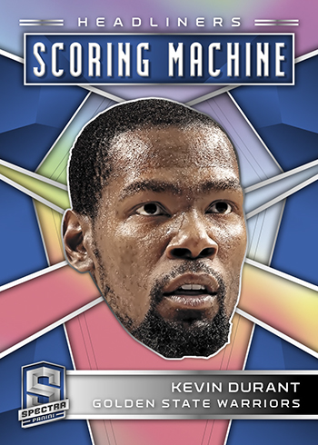 2018-19 Panini Spectra Basketball Scoring Machine