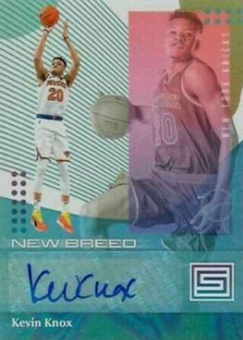 2018-19 Panini Status Basketball New Breed Autographs Kevin Knox