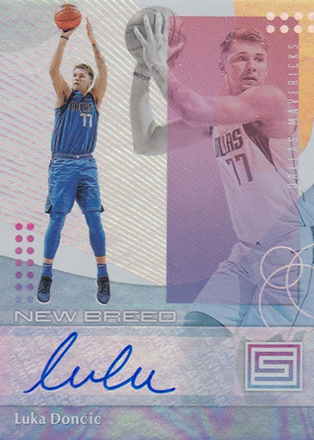 2018-19 Panini Status Basketball New Breed Autographs Luka Doncic